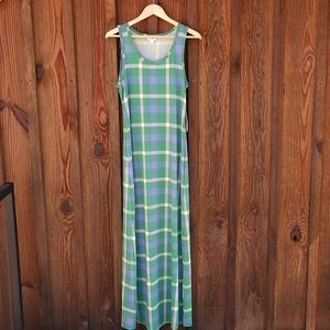 NWT sleeveless maxi dress Medium LulaRoe